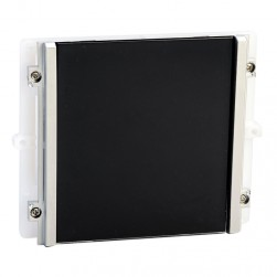 Comelit 3334 Plain Module With Black Faceplate