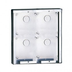 Comelit 3316/4 Stainless steel surface-mounting box for 4 modules
