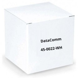 DataComm 45-0022-WH Recessed Pro-Power Kit with Locking Inlet, White