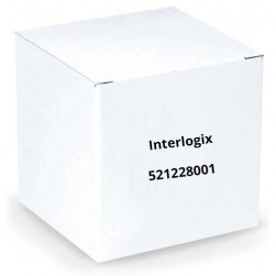 Interlogix 521228001 Dual Gang Mounting Plate, Black