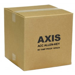 Axis 5500-491 ACC Allen-Key M3 Tamp Proof 10-Pack