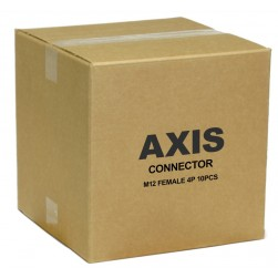 Axis 5502-141 Female M12 4P Connector - 10 Pack