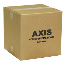 Axis 5502-181 Black cover w/clear bubble for AXIS M30 Series. 10 pack