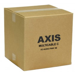 Axis 5506-201 Multicable C I/O Audio Power 1M