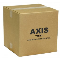 Axis 5506-691 T91F67 Pole Bracket with Steel Straps for Q3505-SVE