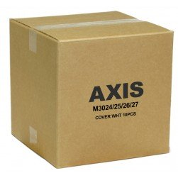 Axis 5504-071 White Dome Camera Cover, 10-Pack
