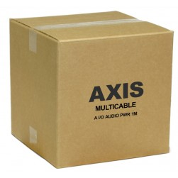 Axis 5505-031 Multi-connector cable A I/O Audio Power 1M