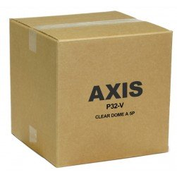 Axis 5506-131 Clear Dome Bubble for Vandal Domes, 5pcs.