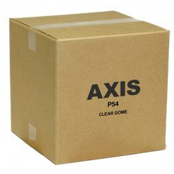 Axis 5800-771 P54 Clear Dome for AXIS P54-Series