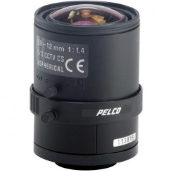 Pelco 13VA2-8-12 1/3-inch 2.8-12mm F1.4 Manual Iris Varifocal Lens