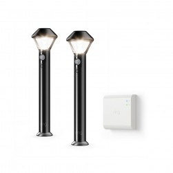 Ring 5LP3X9-BEN0 Outdoor Battery Integrated LED Path Area Light with Smart Lighting Bridge
