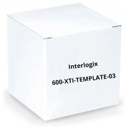 Interlogix 600-XTI-TEMPLATE-03 Replacement Template for Simon XTI