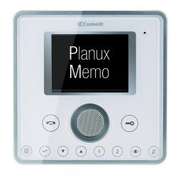 Comelit 6101WBM White Planux Hands-Free/Induction Loop Color Monitor