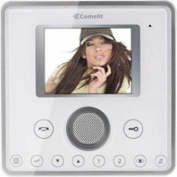 Comelit 6101WM Planux touch screen monitor with memory -White