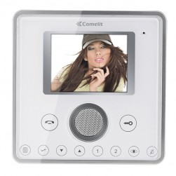 Comelit 6202HW Planux Series ViP System Hands-Free White Color Monitor