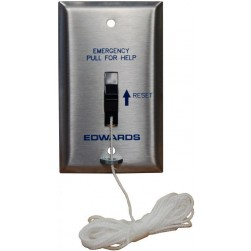 Alpha AL-6537 120VAC Emergency Pull Cord Station