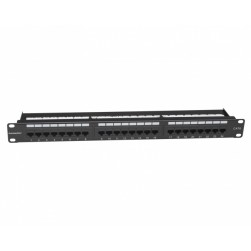 Platinum Tools 661-24C6 24 Port Cat6 Non-Shielded Patch Panel