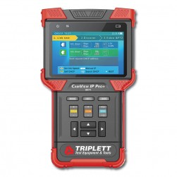 Triplett 8071 Ruggedized IP & Analog NTSC/PAL Camera Tester
