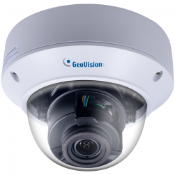 Geovision 84-AVD871W-0010 8MP H.265 4.3x Super Low Lux WDR Pro IR Vandal Proof IP Dome