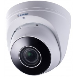 Geovision 84-EBD871W-0010 GV-EBD8711 8 Megapixel Network IR Outdoor Dome Camera, 2.8-12mm Lens