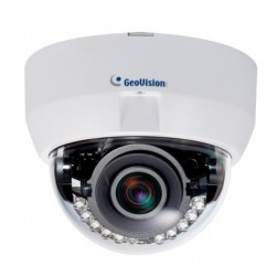 Geovision 84-EFD5101-0010 GV-EFD5101 5 Megapixel 3-9mm H.264 Low Lux WDR IR Fixed IP Dome