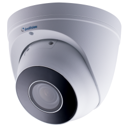 Geovision 84-EBD471W-0010 GV-EBD4711 4 Megapixel Network IR Outdoor Dome Camera, 2.7-12mm Lens