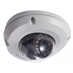 Geovision 84-EDR2100-2020 GV-EDR2100-2F 2 Megapixel IR Mini Fixed Rugged IP Dome Camera, 3.8mm Lens