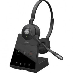 Jabra 9559-553-125 Engage 65 Stereo Wireless DECT On-Ear Headset