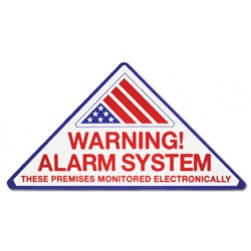 ELK 998 Warning Alarm System Decals (100-Pack)