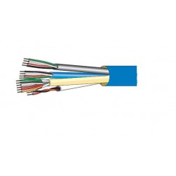 West Penn AC1822BL1000 Access Control Cable Blue 1000 ft