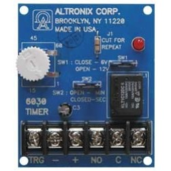 Altronix AL-624ET Single Class 2 Output Linear Power Supply Charger, 12VDC @ 1.2A, 115VAC, BC100, Enclosure