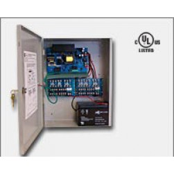 Altronix AL1012ULXPD16 16 Fused Outputs Power Supply/Charger, 12VDC