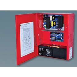 Altronix AL1024ULM 5 Output Power Supply/Charger 24VDC, Red
