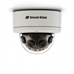 Arecont Vision AV12186DN 12MP 180 Panoramic WDR IP Camera
