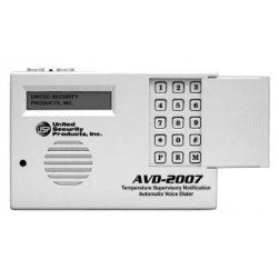 United Security Products AVD-2007 Auto Voice Dialer with built in Temperature sensors