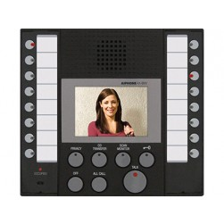 Aiphone AX-8MV Audio/Video Master Station, Black
