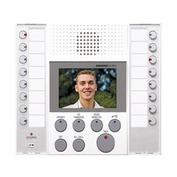 Aiphone AX-8MV-W Audio/Video Master Station, White