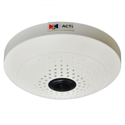 ACTi B55 10Mp D/N Hemispheric Network Fisheye Dome Camera