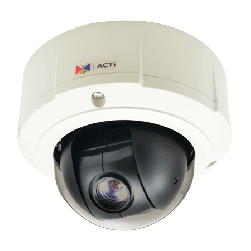 ACTi B96 5 Megapixel Outdoor with Day/Night Network IP PTZ Camera, 10x Zoom Lens
