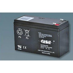 Altronix BT126 Rechargeable Lead Acid Battery, 12VDC