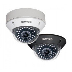 Nuvico CD-STD21N-LB 700TVL Indoor IR Dome Camera, 2.8-10mm