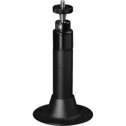 Pelco CM1750-BK Universal Wall, Ceiling, or Pedestal Camera Mount w/Adjustable Swivel Head, Black