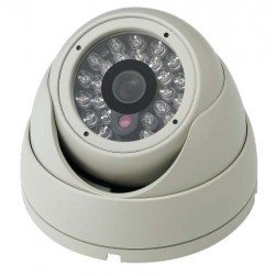 Cantek-Plus CTP-TF17PE-W 1.3Mp HD-SDI Outdoor IR Dome Camera