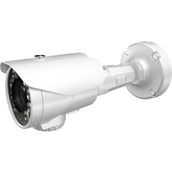 Cantek Plus CTP-TVS29AB50-W 1080p IR Outdoor Bullet Camera, 5-50mm Lens, White
