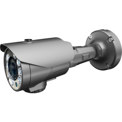 Cantek Plus CTP-TVS29AB 1080p IR Outdoor Bullet Camera, 2.8-12mm Lens, Gray