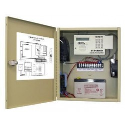 United Security Products CVD-2000PS Cellular Dialer Back up in metallic cabinet w/ AD2000, incl. phone & Prepaid Sim Card