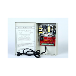 Cantek CTW-12VDC-8P-4A 8 PTC Output CCTV Distributed Power Supply