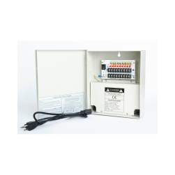 Cantek CTW-12VDC-9P-5A CCTV Distributed Power Supply