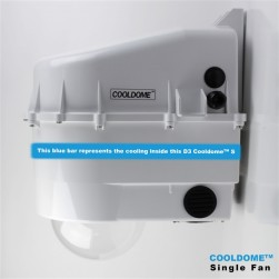 Dotworkz D3-CD-S D3 COOLDOME Single Cooling Camera Enclosure