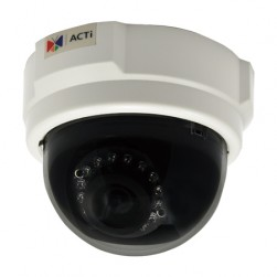 ACTi D55 3MP Full HD Indoor IR Network Dome Camera, 3.6mm